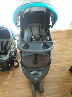 Baby trend Ride 5 Travel System, very clean. for Sale in Riverside, CA