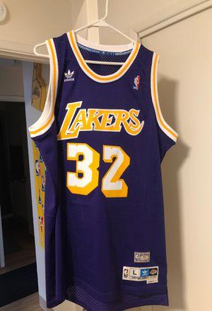 Lakers Magic Johnson swingman Jersey Size Large for Sale in Hillsboro, OR