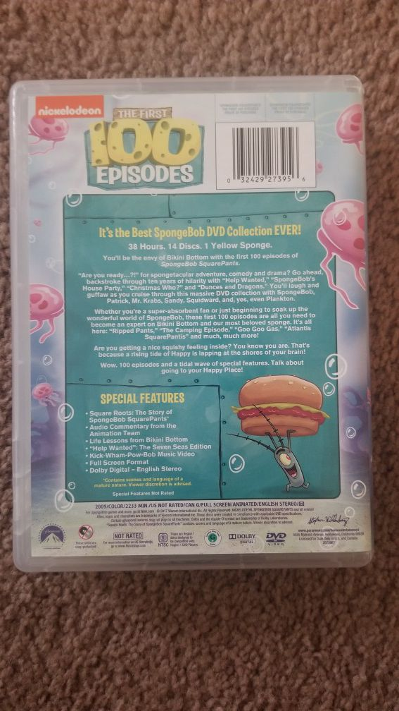 Spongebob First 100 Episodes DVD Collection