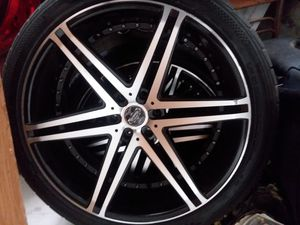 24 inch versante rims and tires!!!! for Sale in Los Angeles, CA