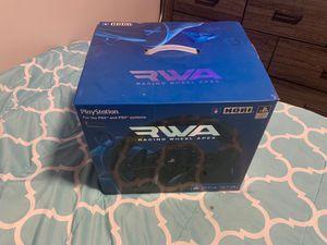 RWA/ racing wheel sim/ PS4-PC compatible for Sale in Dearborn, MI