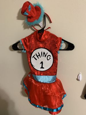 Thing one costume 2t/3t for Sale in Duluth, GA