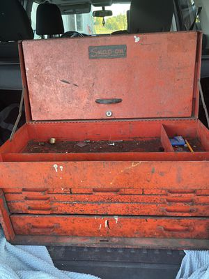 Vintage snap on tool box for Sale in McMinnville, OR
