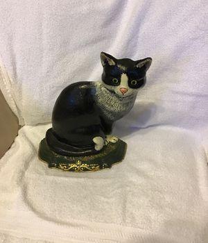 Vintage, cast iron cat doorstop! Excellent condition. for Sale in St. Louis, MO