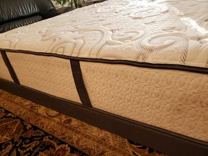 King Mattress split box springs bed frame for Sale in Lynnwood, WA