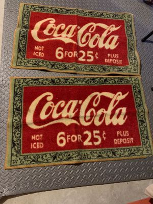 Coca Cola door mats for Sale in Worcester, MA
