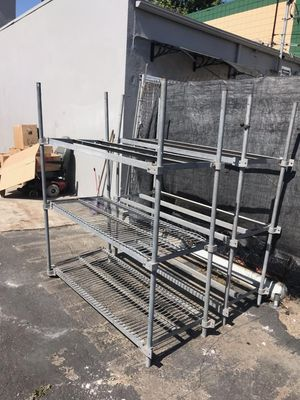 Metal shelving for Sale in Huntington Beach, CA