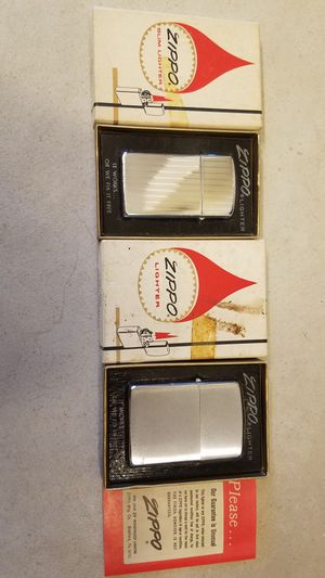 Vintage Zippo Lighters for Sale in Hutto, TX
