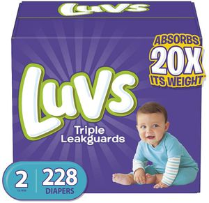 Luvs Diapers size 2 for Sale in Fresno, CA