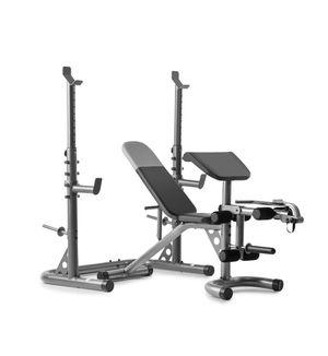 New Weider Olympic Weight Bench w Squat and Preacher Pad for Sale in Temecula, CA