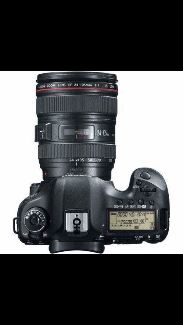 CANNON EOS-5D MARK III DLSR CAMERA WITH 24-105mm IS LENS- BLACK. -