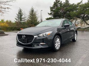 2017 Mazda 3 i Touring Sedan - Low Miles 17K - Backup camera for Sale in Portland, OR