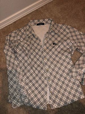 Burberry women's button down shirt. Size S for Sale in Hillsboro, OR