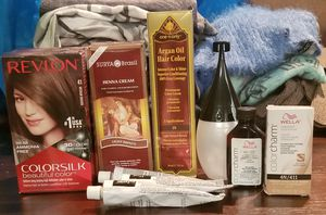 Brown Hair Color Dye Products, Wella Color Charm, Argan & Henna for Sale in Arvada, CO