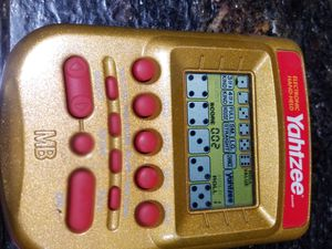 Handheld Yahtzee game for Sale in Bloomington, IL