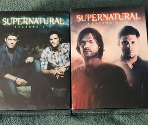 SUPERNATURAL SEASONS 1 - 10 SEALED GREAT VALUE!! for Sale in Hodgkins, IL