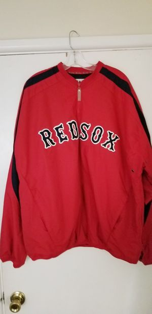 Red Sox Majestic Early 2000's Red Sox Half Zip Pullover XL Jacket in Excellent Condition! for Sale in Braintree, MA