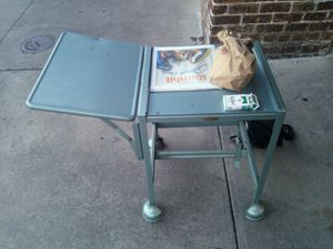 Antique rolling Typewriter table for Sale in New Orleans, LA