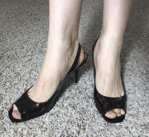 Stuart Weitzman Open Toe Heels for Sale in Pleasant Hill, CA