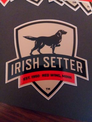 Irish setter boot brands decals for Sale in TEMPLE TERR, FL