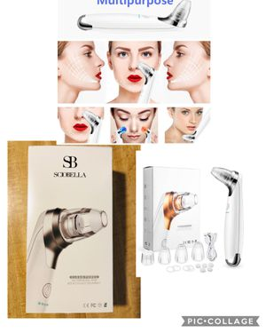 New Facial Pore Vacuum Blackhead Remover Acre Diamond Peeling Microdermabrasion Kit Removal Too(pick up only) for Sale in Alexandria, VA