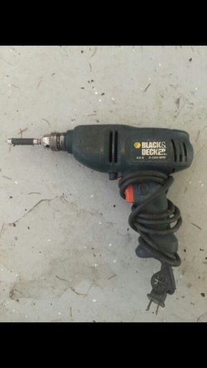 Black & Decker Corded Variable Speed Drill for Sale in Vancouver, WA