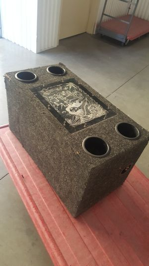 """SUBWOOFER BOX FOR 2 TWELVES """""""""""" for Sale in Castro Valley, CA"""