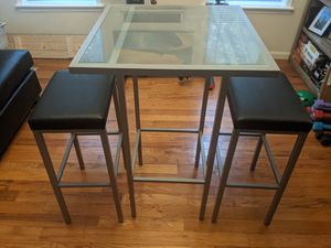 Beautiful Metal and Glass Table for Sale in New York, NY