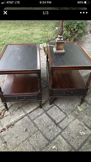 Two end tables for Sale in Frankfort, IN