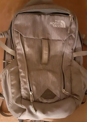 The North Face Surge Series Backpack In Grey Like New Condition for Sale in Albuquerque, NM