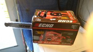 Echo 18in. Chainsaw for Sale in Medford, MA