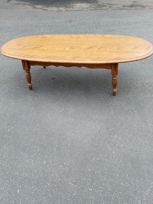 Wood coffee table for Sale in Montclair, CA