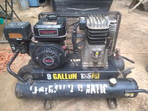 CENTRAL PNEUMATIC 9 gallon 212cc 135 PSI Wheelbarrow Air Compressor for Sale in Monroe, GA