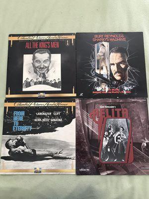 4 Laser Disk classics for Sale in Miami, FL