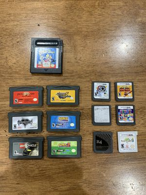 Nintendo DS, 3DS, Gameboy, and Gameboy Advance Games (Read Description for Prices) for Sale in Fremont, CA