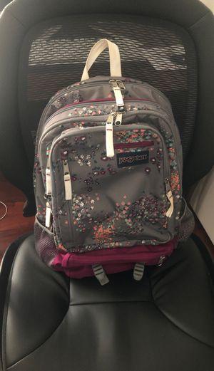 JANSPORT multi color/multi pocket backpack school/regular backpack for Sale in Los Angeles, CA