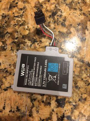 Wii U tablet battery for Sale in Hialeah, FL