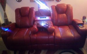 Leather Couch for Sale in Columbia, TN