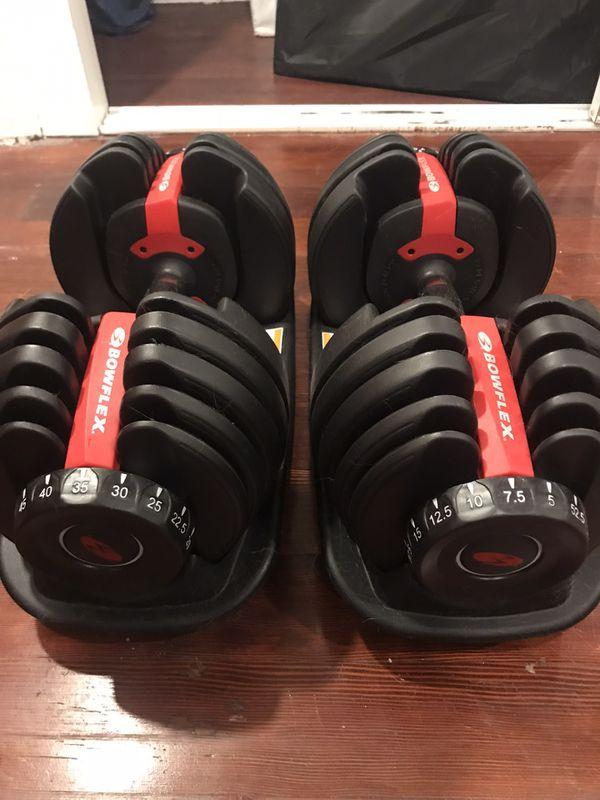 Bowflex Dumbbells Adjustable SelectTech Pair