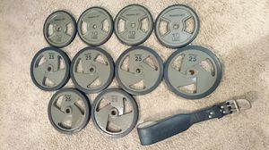 Weight Plates Reebok - 190lb for Sale in Orlando, FL