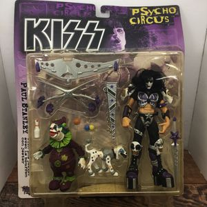 KISS Psycho Circus Paul Stanley With Jester Action Figures for Sale in Navasota, TX