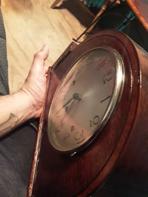 Antique table and clock best offer for Sale in Dallas, TX