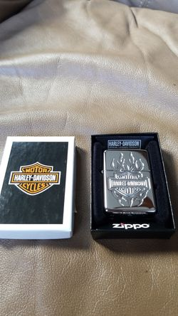 Zippo armor Harley Davidson lighter, collectible for Sale in Mukilteo,  WA