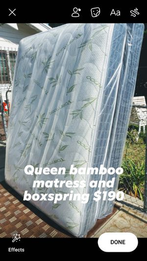 Queen size for Sale in Hawthorne, CA