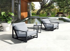 FREE DELIVERY Renava modern patio chairs & table for Sale in Miami Beach, FL