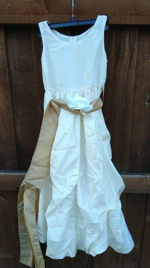 Girls wedding flower girl dress for Sale in Dallas, TX