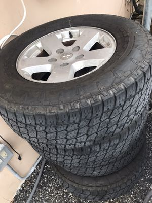 Rims with tires for Sale in Palm Beach, FL