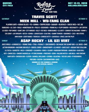 2019 Rolling Loud New York - 2 Day GA Saturday, October 12, 2019 - Sunday, October 13, 2019 at Citi Field 123-01 Roosevelt Ave New York, NY - 1136 for Sale in Lexington, KY