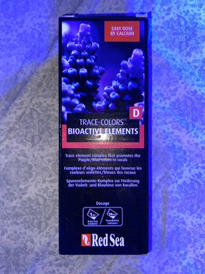 NWT NIB Red Sea Trace Colors Bioactive Elements D Saltwater Fish Tank Supply for Sale in Lake Forest, CA