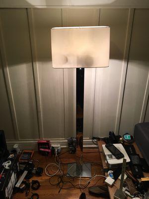 Vintage lamp w extra half-chrome lightbulbs for Sale in San Francisco, CA